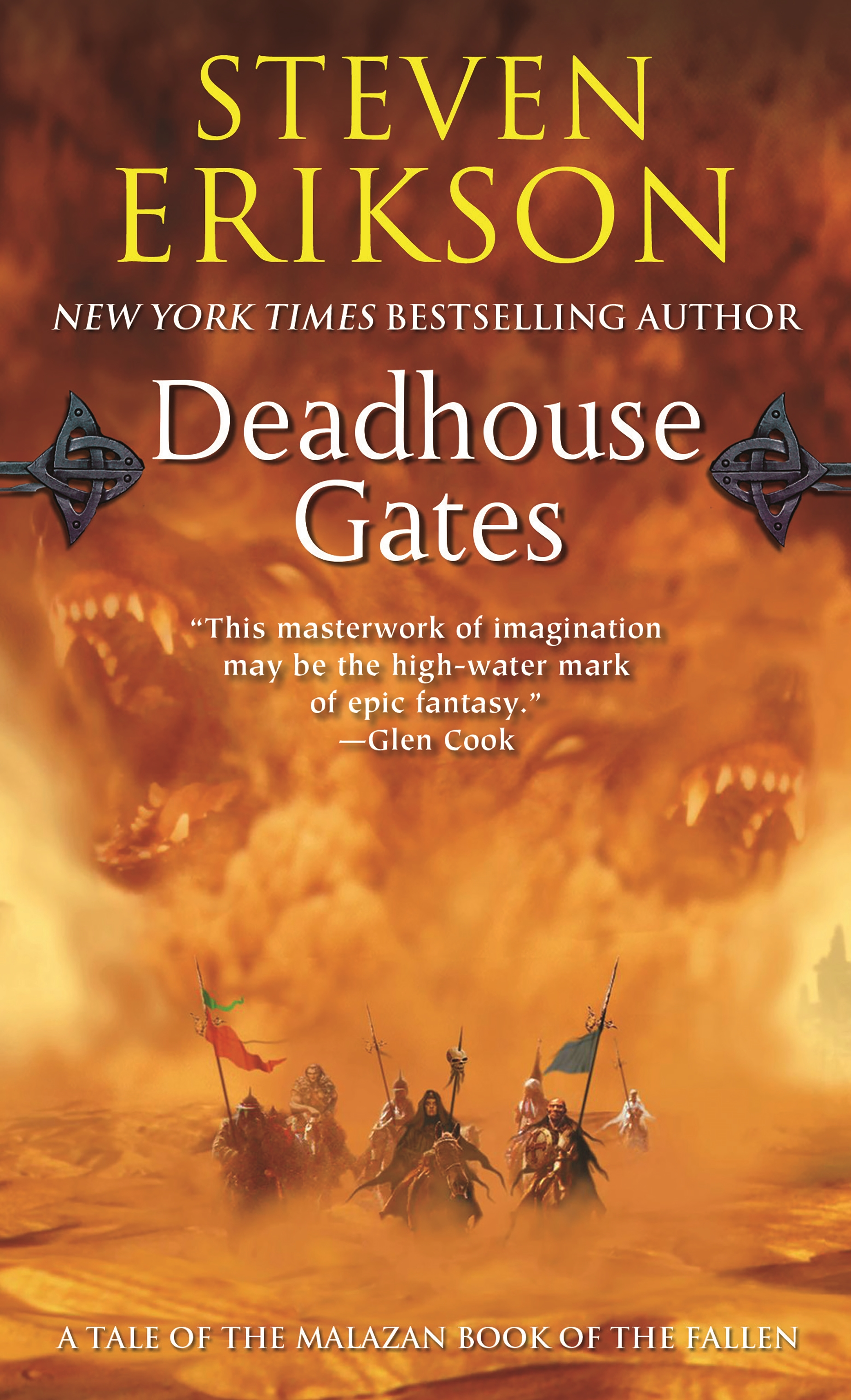 Deadhouse Gates : Book Two of The Malazan Book of the Fallen by Steven  Erikson