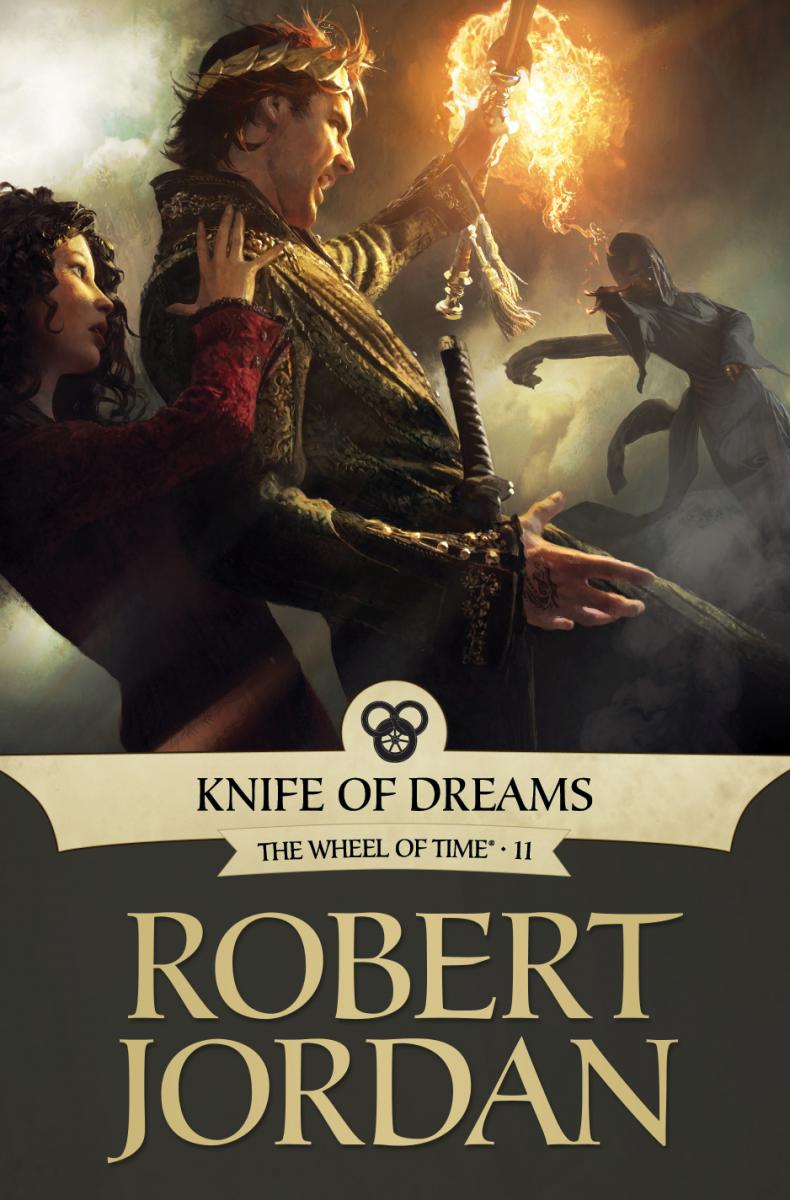 Knife of Dreams (Tor ebook cover)