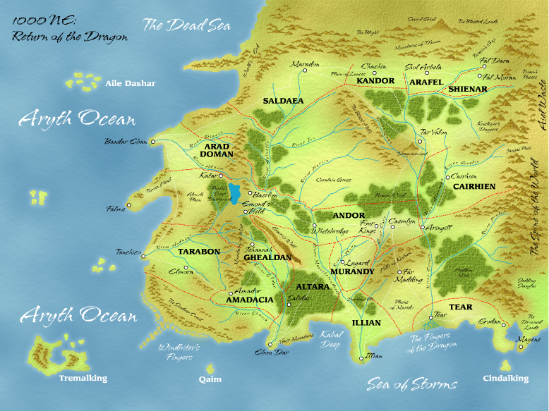 WoT Maps - Dragonmount.com