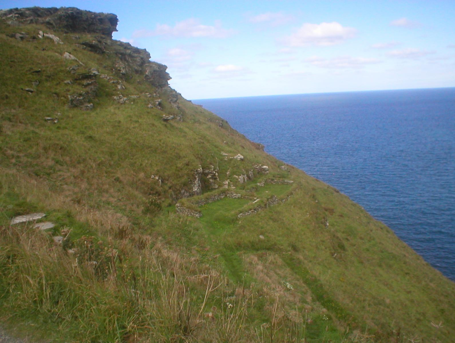 Tintagel, King Arthur's castle and birthplace