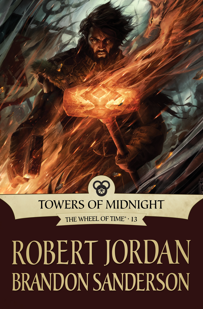 Towers of Midnight (Tor ebook cover)