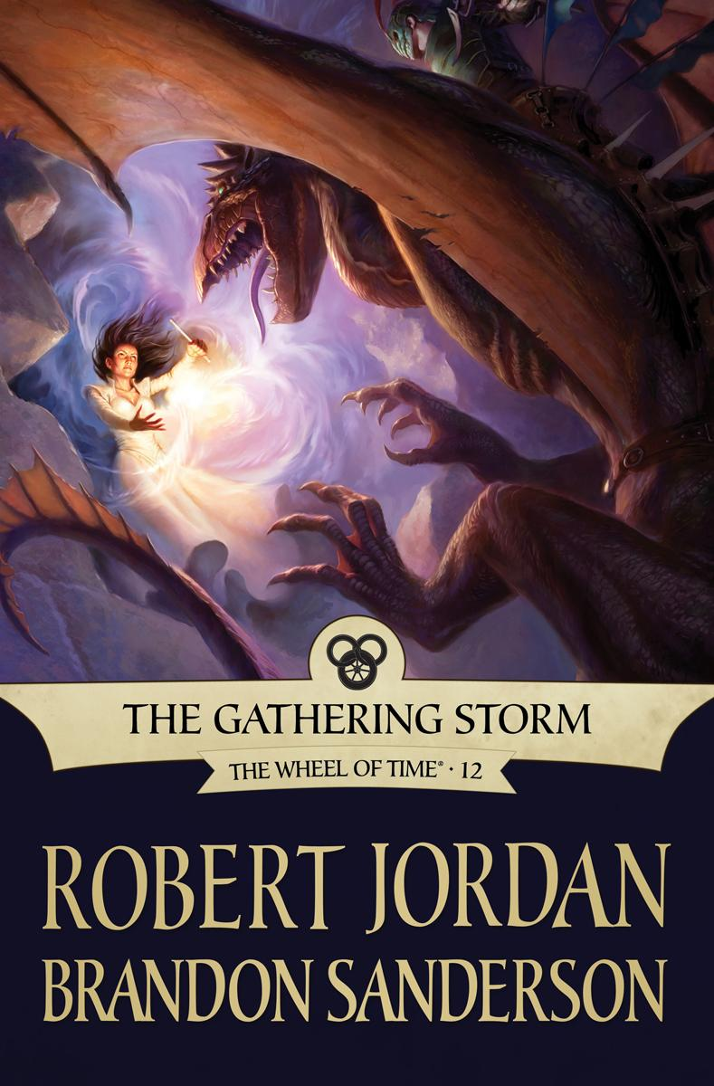 The Gathering Storm (Tor ebook cover)
