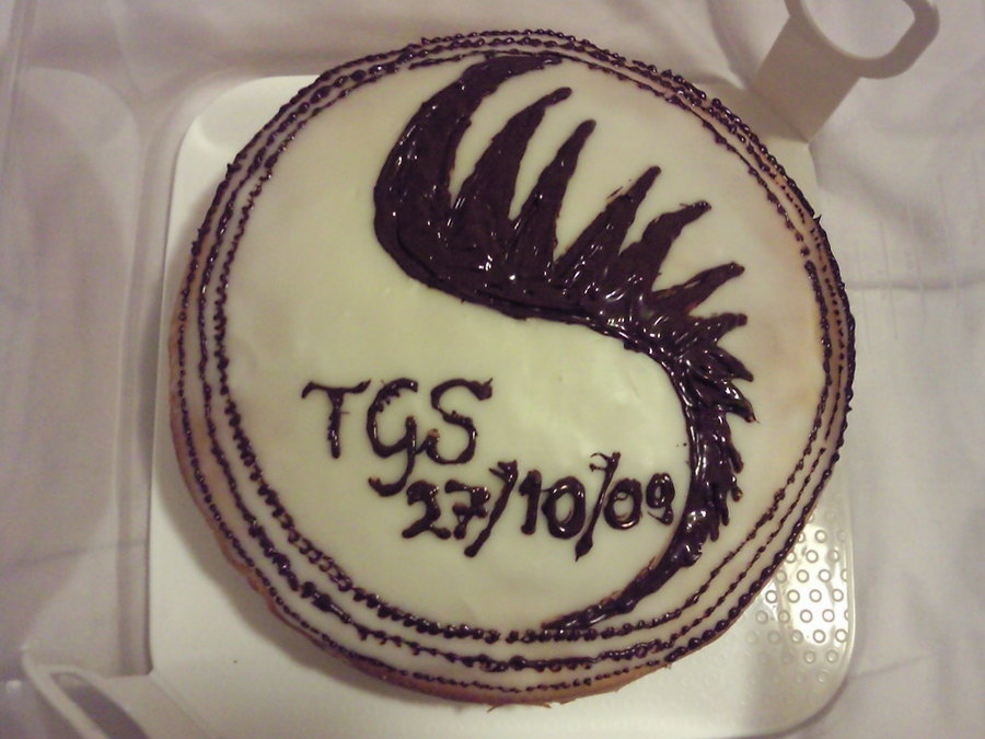TGS Release Celebration cake