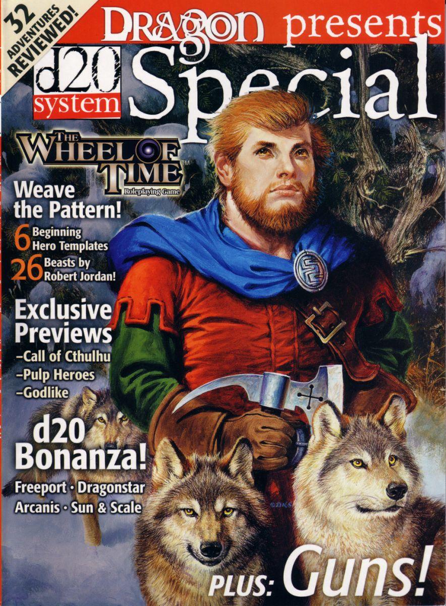 Perrin Aybarra: Dragon magazine print cover