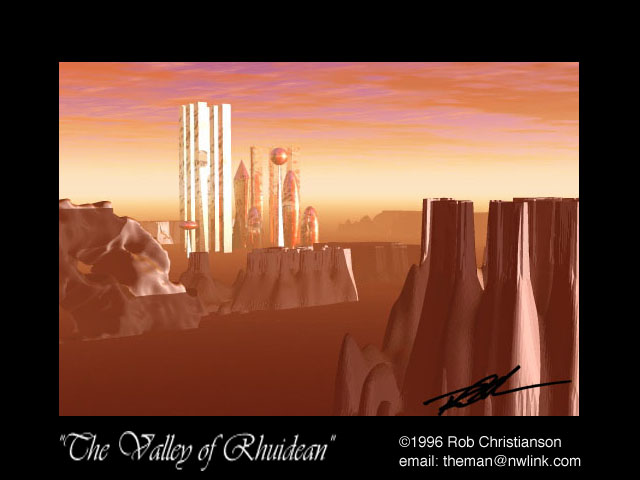 Valley Of Rhuidean