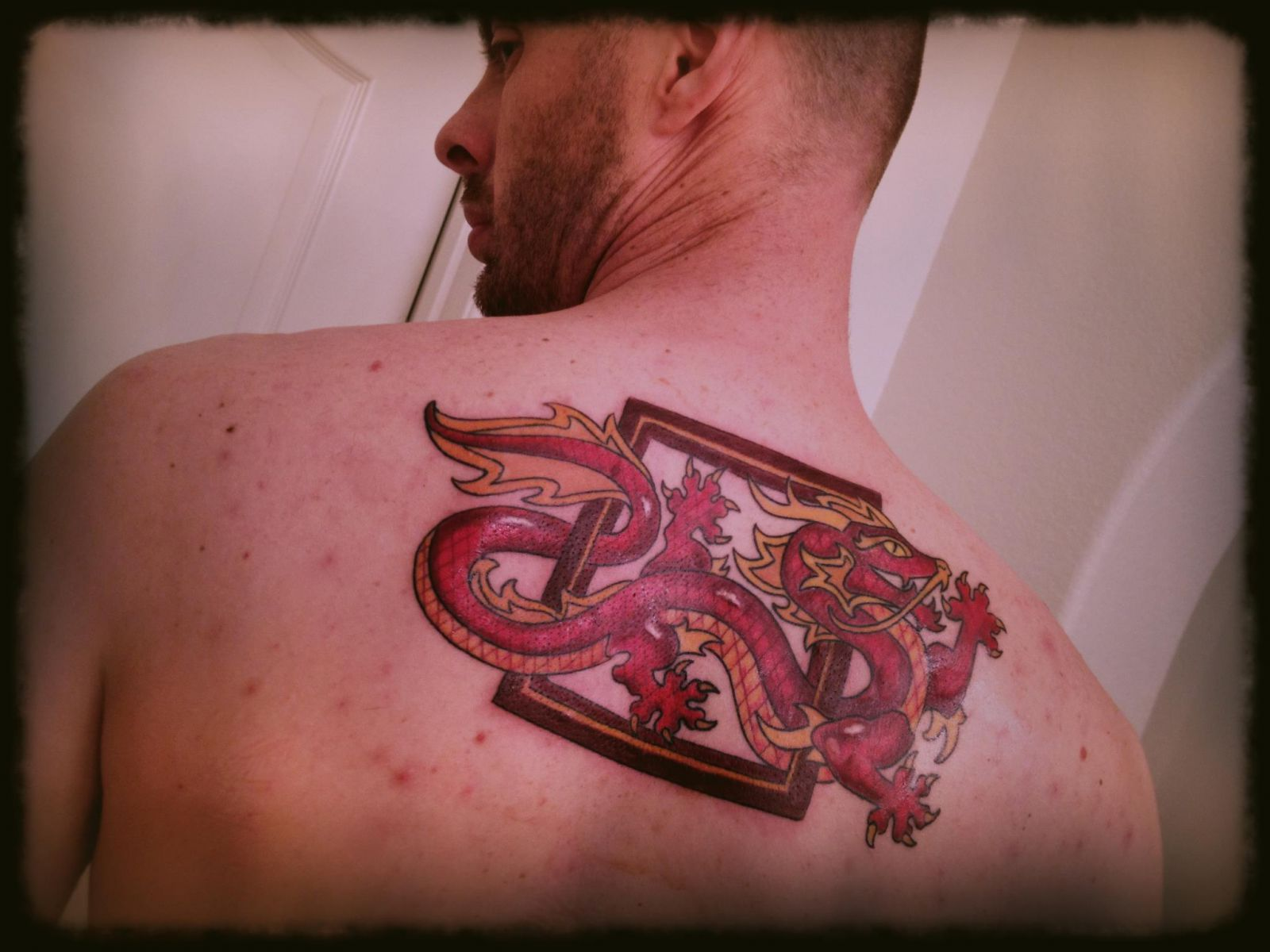 Jason's Wheel of Time tattoo