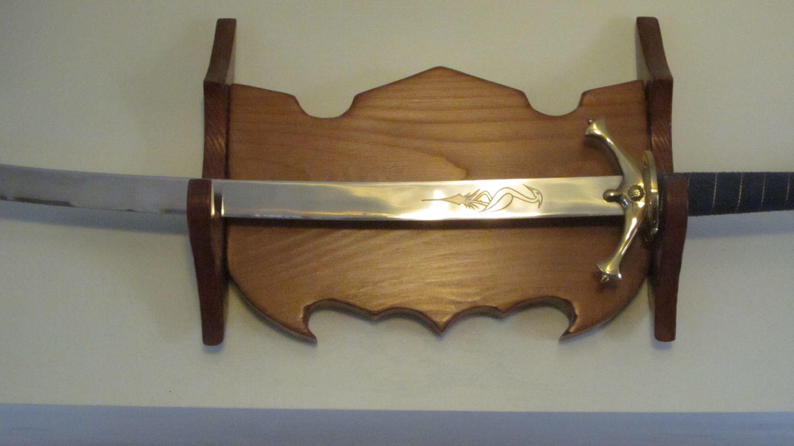 Heron Mark Sword wall hanger