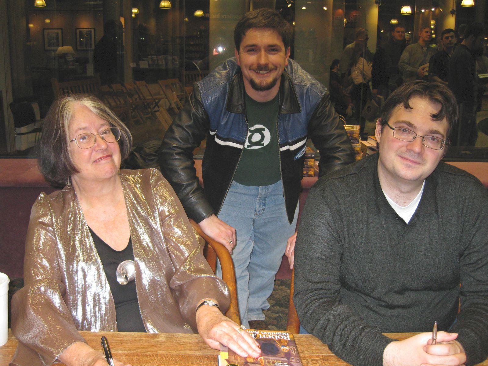 Meeting Brandon and Harriet