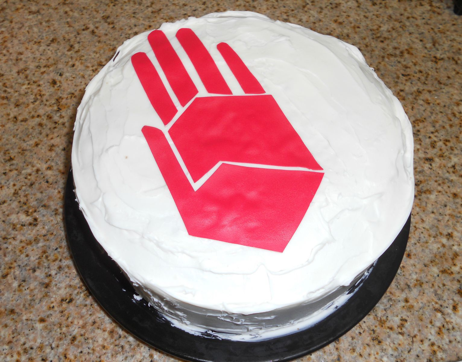 Bans of the Red Hand Cake