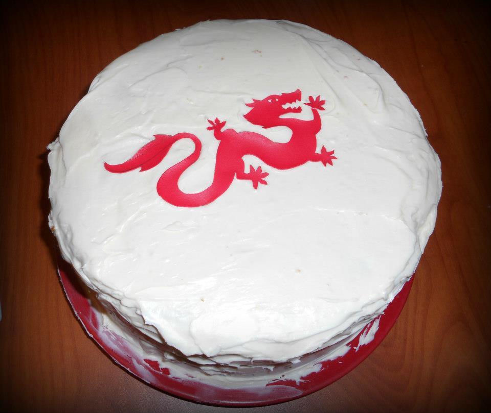 Dragon Reborn Cake