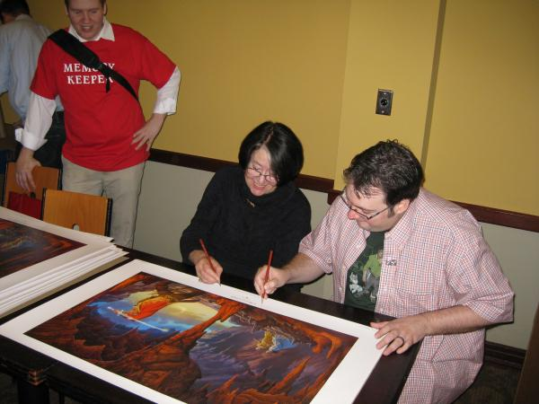 A Memory of Light Lexington book signing