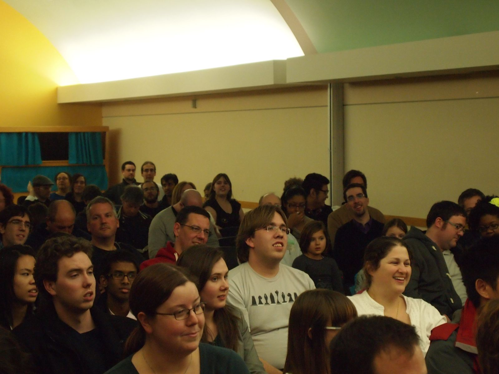 A full room