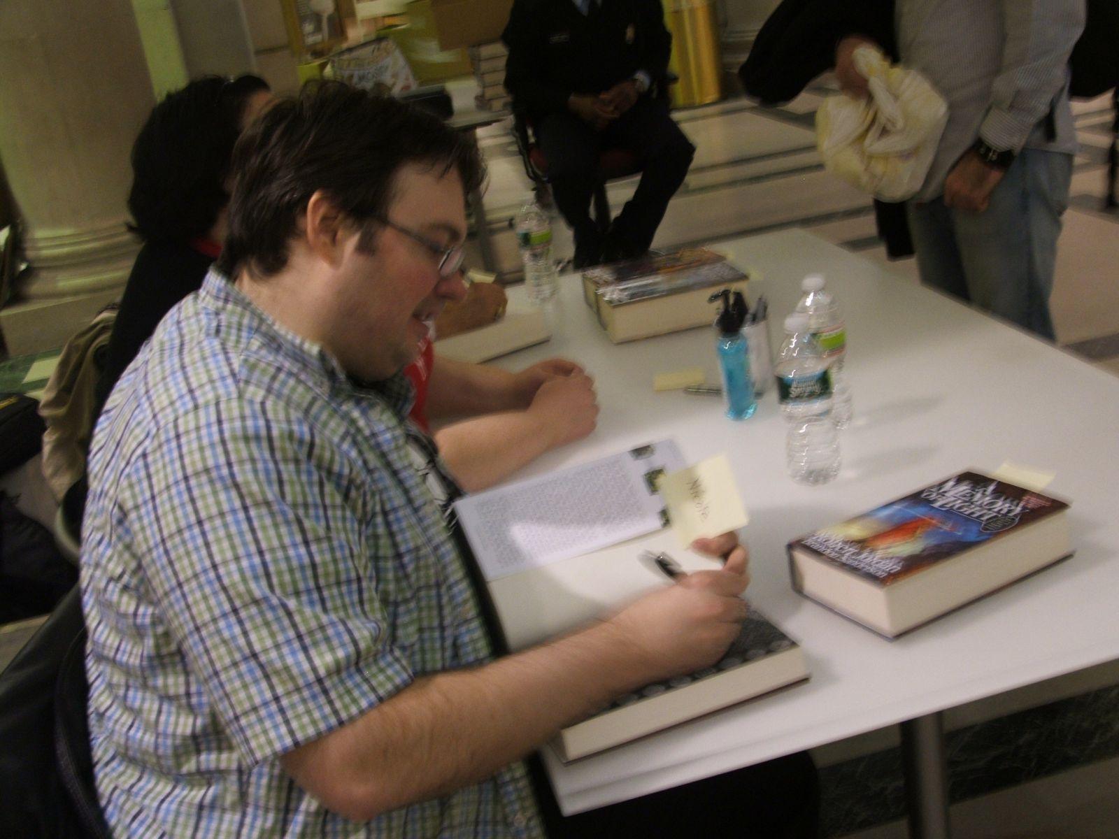 Brandon Signing
