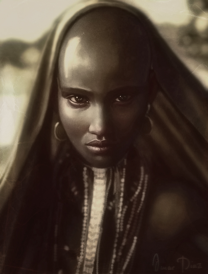 Ethiopian beauty By Dark Adon