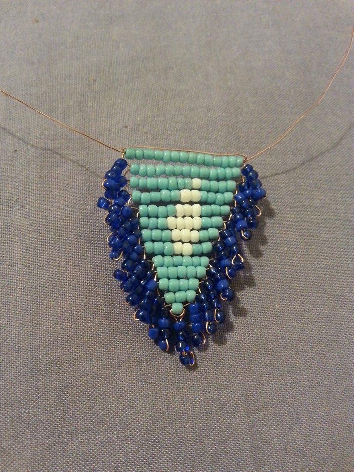 Blue Sedai Shawl2