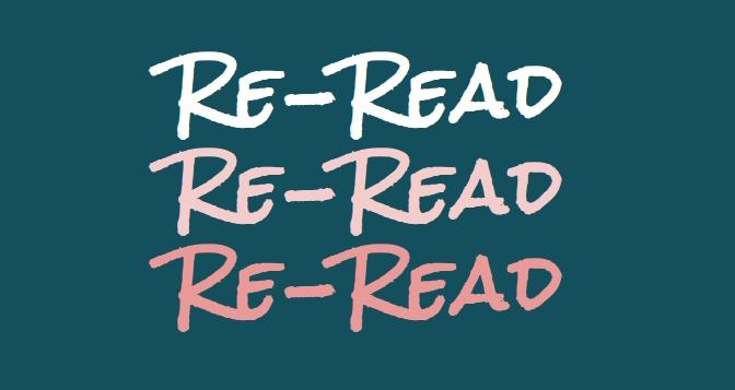 Re read