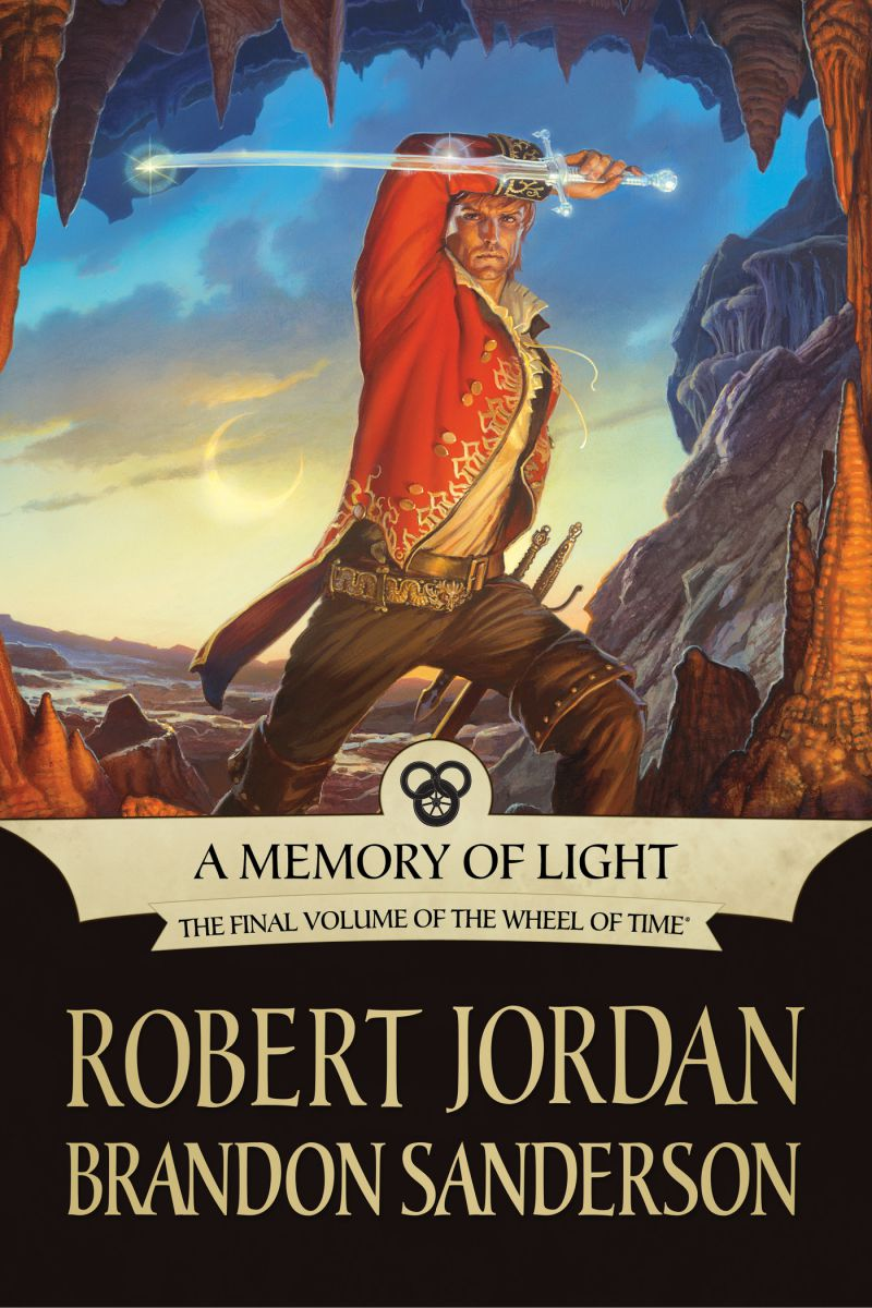 A Memory of Light (ebook cover)