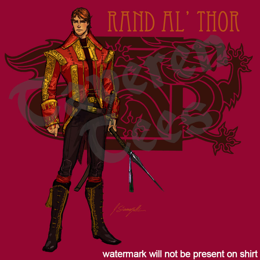 brand new rand al thor shirt from ta veren tees community events