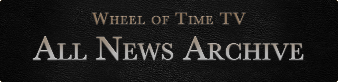 ALl Wheel of Time TV show News