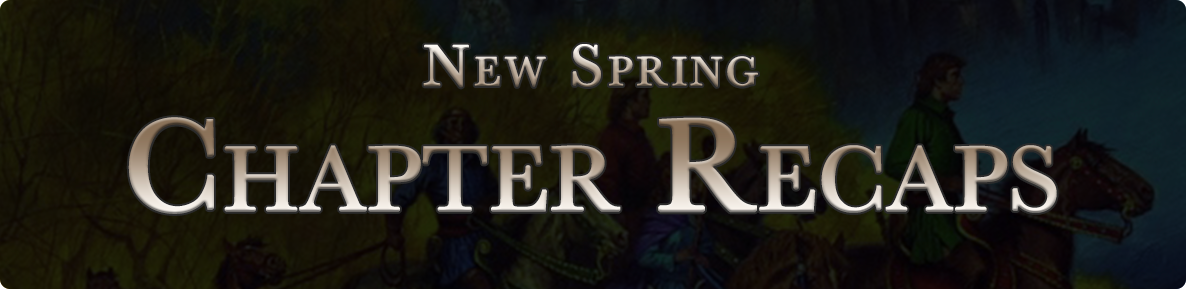 New Spring - chapter recaps