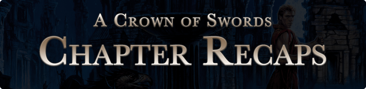 A Crown of Swords - chapter recaps