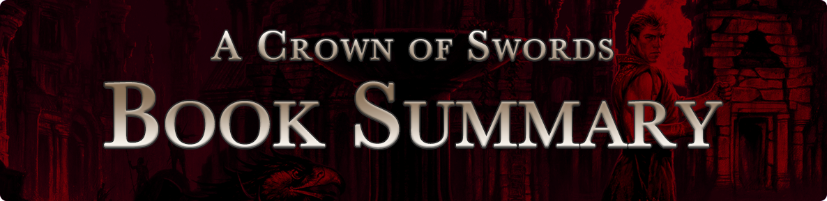A Crown of Swords - summary