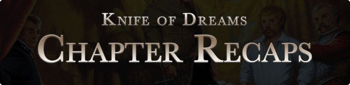 Knife of Dreams - chapter recaps