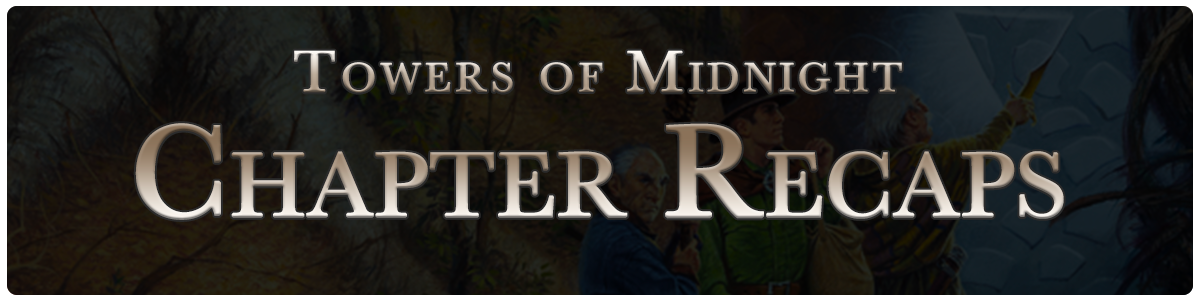 Towers of Midnight - chapter recaps