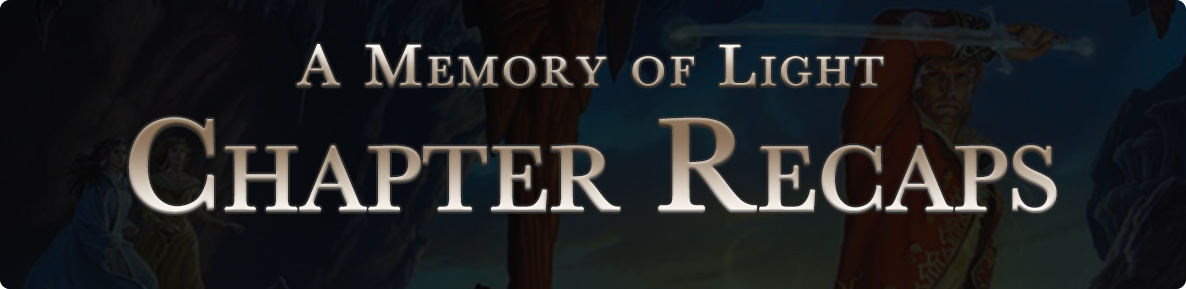 A Memory of Light - chapter recaps